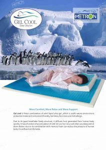 Gel cool laminated Mattress
