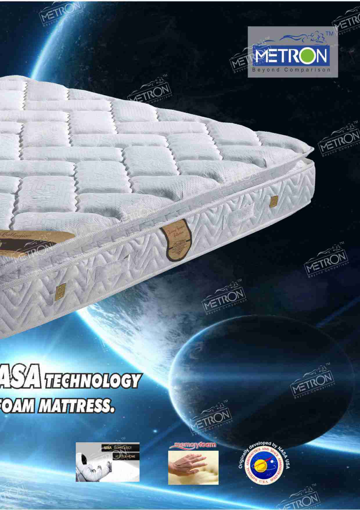 Royal Vintage memory foam mattress Metron