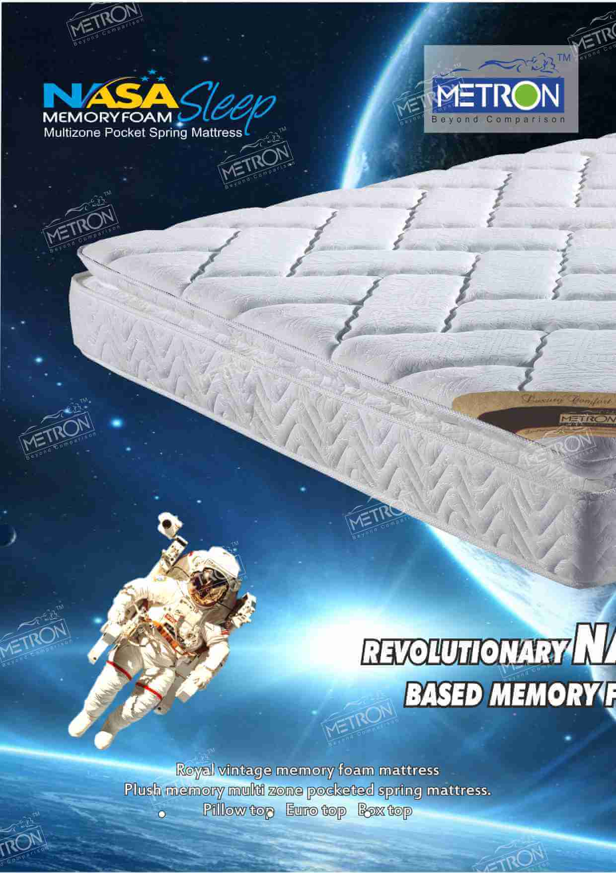 Metron Royal Vintage memory foam mattress