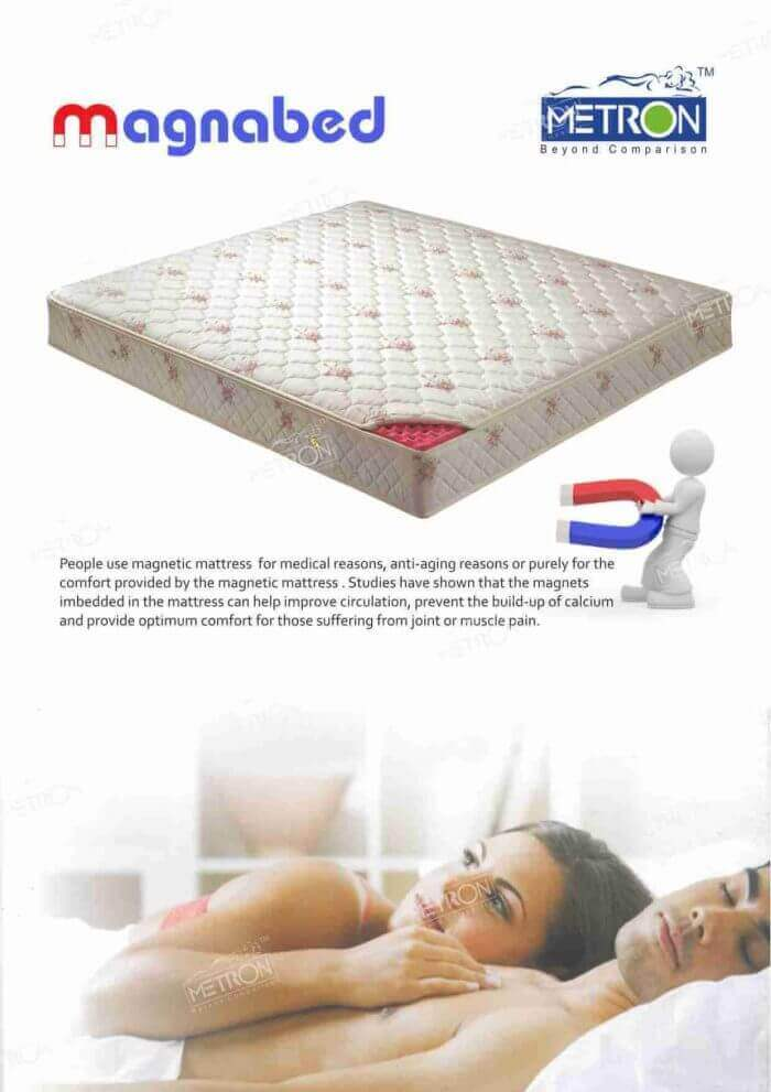 Metron magnetic mattress