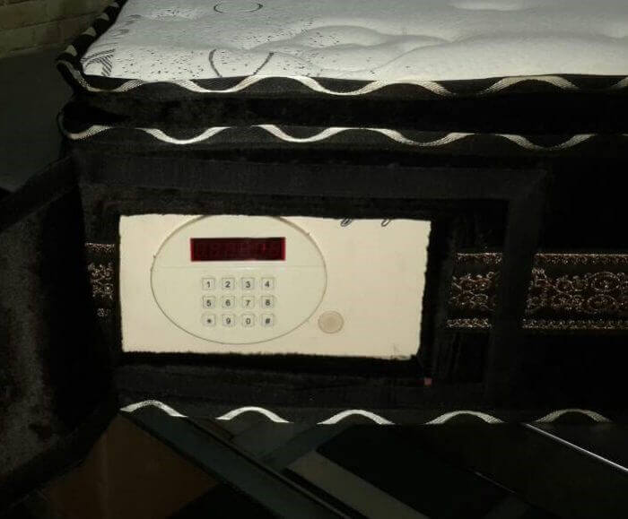 digital safe mattress