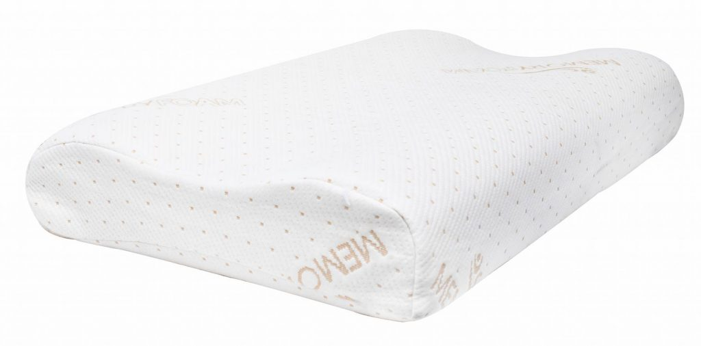 Metron contour memory foam pillow.