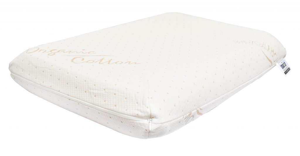 Metron Traditional shape memory foam pillow